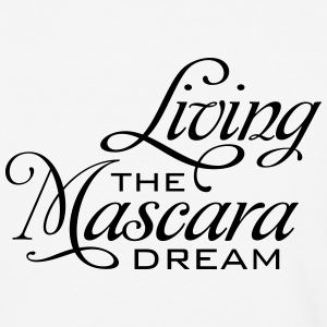 living the mascara dream - Baseball T-Shirt