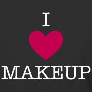 I heart Makeup - Baseball T-Shirt