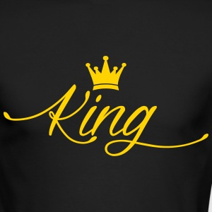 King Long Sleeve Shirts - Men's Long Sleeve T-Shirt by Next Level