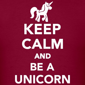 Keep calm and be a unicorn T-Shirts - Men's T-Shirt