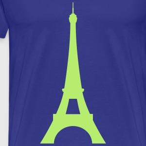 La tour Eiffel, Eiffel Tower T-Shirts - Men's Premium T-Shirt
