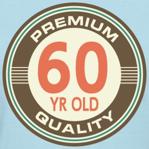 60th Birthday Vintage Style Gift Women's T-Shirts - Women's T-Shirt