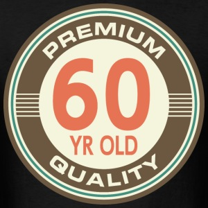 60th Birthday Vintage Style Gift T-Shirts - Men's T-Shirt
