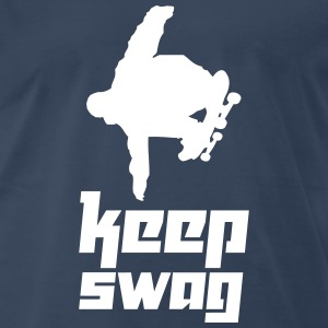 Keep Swag 4 (Vektor) - Men's Premium T-Shirt