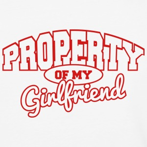 Property of my girlfriend T-Shirts - Baseball T-Shirt