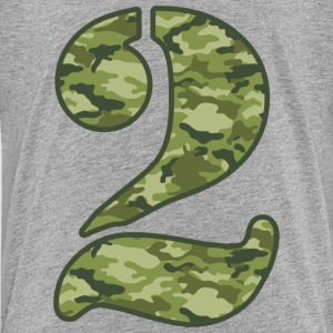 Green Camo 2nd Birthday Baby & Toddler Shirts - Toddler Premium T-Shirt