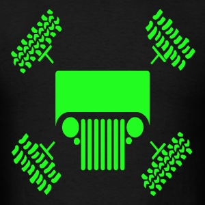 4 wheel drive - Men's T-Shirt