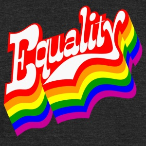 Equality - Unisex Tri-Blend T-Shirt by American Apparel