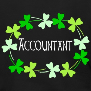 Accountant Shamrock Oval Light Zip Hoodies & Jackets - Men's Zip Hoodie
