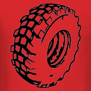 tire - Men's T-Shirt