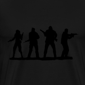 left 4 dead heroes - Men's Premium T-Shirt