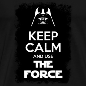 keep calm and use the force - Men's Premium T-Shirt