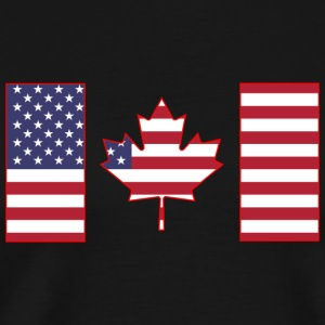 Maple Leaf from Stars and Stripes - Men's Premium T-Shirt