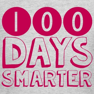 100 Days Smarter Shirt - Women's Long Sleeve Jersey T-Shirt