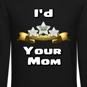 Clash of Clans Three Star Your Mom - Crewneck Sweatshirt