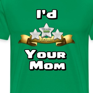 Clash of Clans Three Star Your Mom - Men's Premium T-Shirt