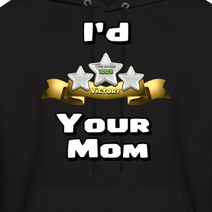 Clash of Clans Three Star Your Mom - Men's Hoodie