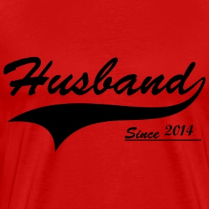 Husband Since ___________ T-Shirts - Men's Premium T-Shirt