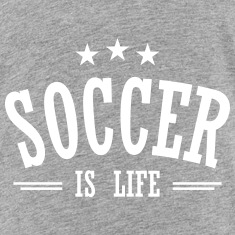 soccer is life 3 Baby & Toddler Shirts