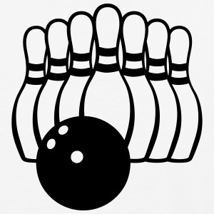 Ten Pin Bowling T-Shirts - Baseball T-Shirt