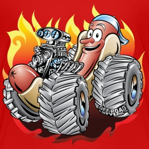 Hot Dog Monster Truck 1 Kids' Shirts - Kids' Premium T-Shirt