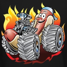 Hot Dog Monster Truck 1 Long Sleeve Shirts