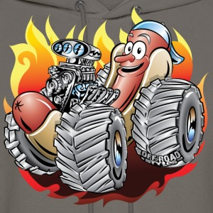 Hot Dog Monster Truck 1 Hoodies - Men's Hoodie