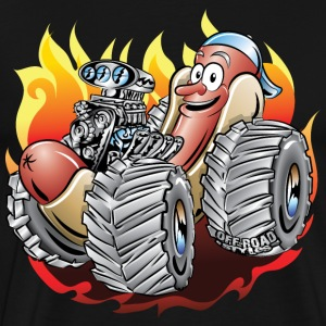 Hot Dog Monster Truck 1 T-Shirts - Men's Premium T-Shirt