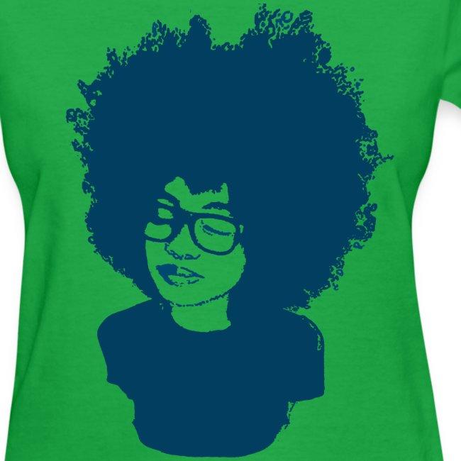 Rock tha' Fro! - Women's Tshirt