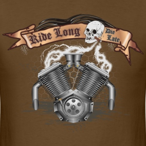 Motorcycle Bike Engine T-Shirts - Men's T-Shirt