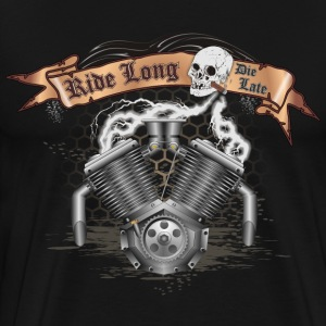 Motorcycle Bike Engine T-Shirts - Men's Premium T-Shirt
