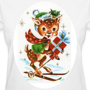 Christmas Reindeer - Women's T-Shirt