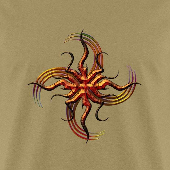 Tribal Bronze Swirl