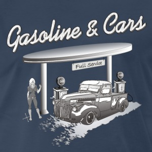 Vintage Car & Gasstation T-Shirts - Men's Premium T-Shirt