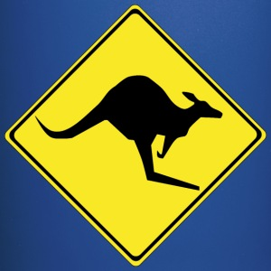 Warning kangaroos ahead - Full Color Mug