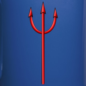 devil pitchfork - Full Color Mug