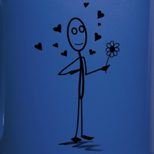 stickman in love - Full Color Mug