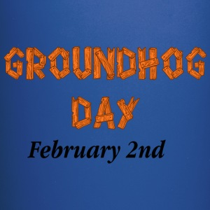 Groundhog Day Sign - Full Color Mug
