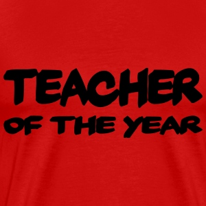 Teacher of the year T-Shirts - Men's Premium T-Shirt