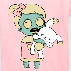 Toddler Zombie Girl Kids' Shirts - Kids' T-Shirt
