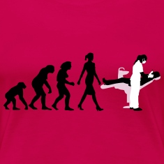 (evolution_zahnaerztin_012015_a_3c) Women's T-Shirts