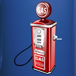 Old Fashioned Gas Pump - Full Color Mug