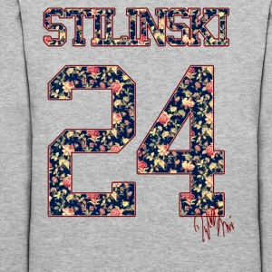 stilinski 24 (flowers pattern) - Women's Hoodie