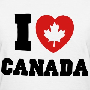 I Heart Canada - Women's T-Shirt
