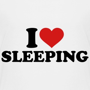 I love sleeping Kids' Shirts - Kids' Premium T-Shirt
