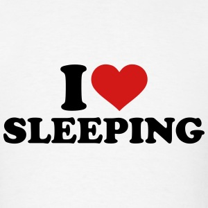 I love sleeping T-Shirts - Men's T-Shirt