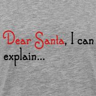 Design ~ Dear Santa I Can Explain