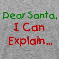 Design ~ Dear Santa I Can Explain Christmas