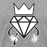 Design ~ diamond crown graffiti