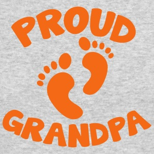 proud grandpa with cute little feet Long Sleeve Shirts - Men's Long Sleeve T-Shirt by Next Level